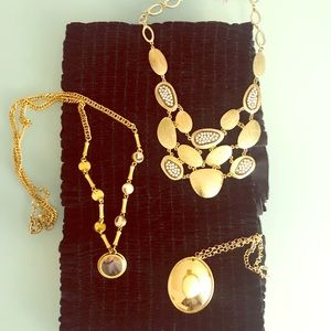 Lot of 3 necklaces J. Crew and Banana Republic